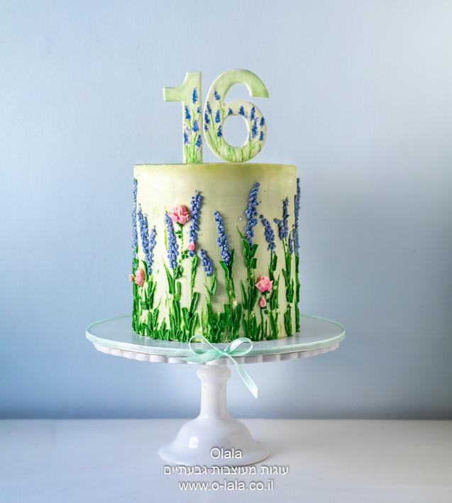 עוגת יום הולדת לבת 16