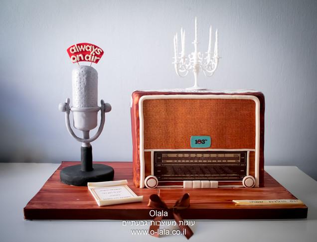 עוגת רדיו ישן