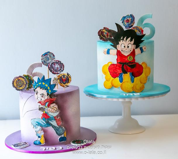 עוגות לתאומים