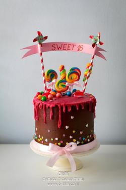 עוגת sweet 16