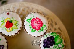 קאפקייקס עם פרחים מצויירים