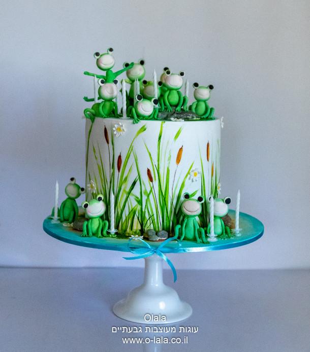 עוגת צפרדעים