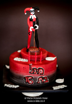 עוגת הרלי קווין