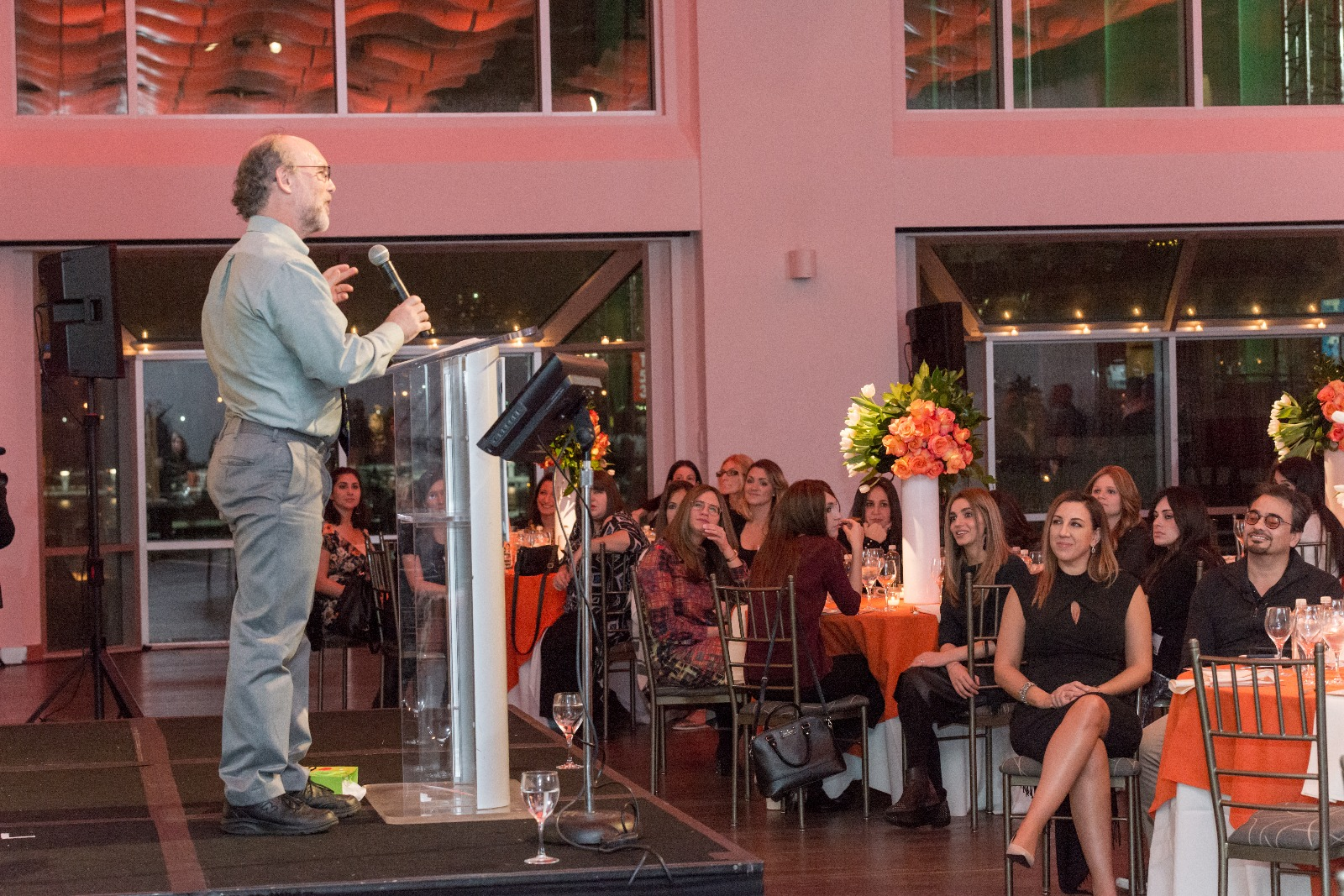 Dr Bobby Newman at BCBA Appreciation Eve