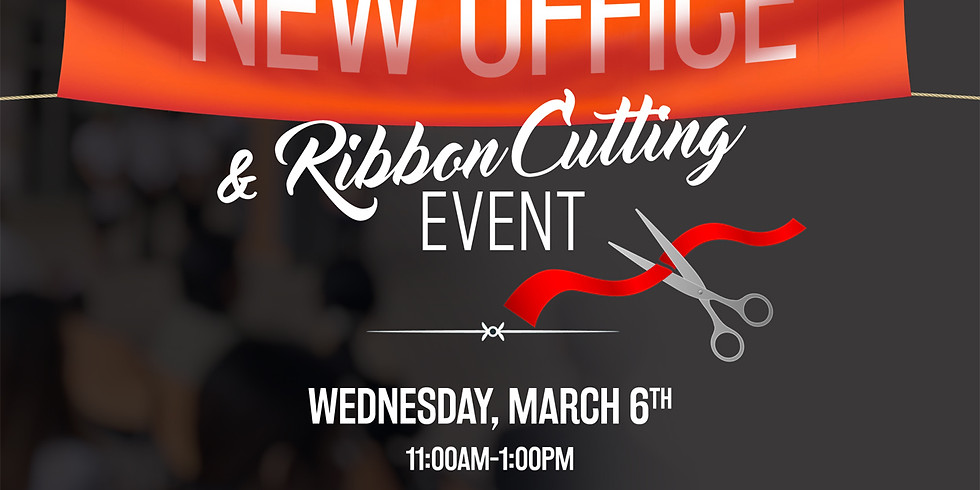 New Office Ribbon Cutting Event