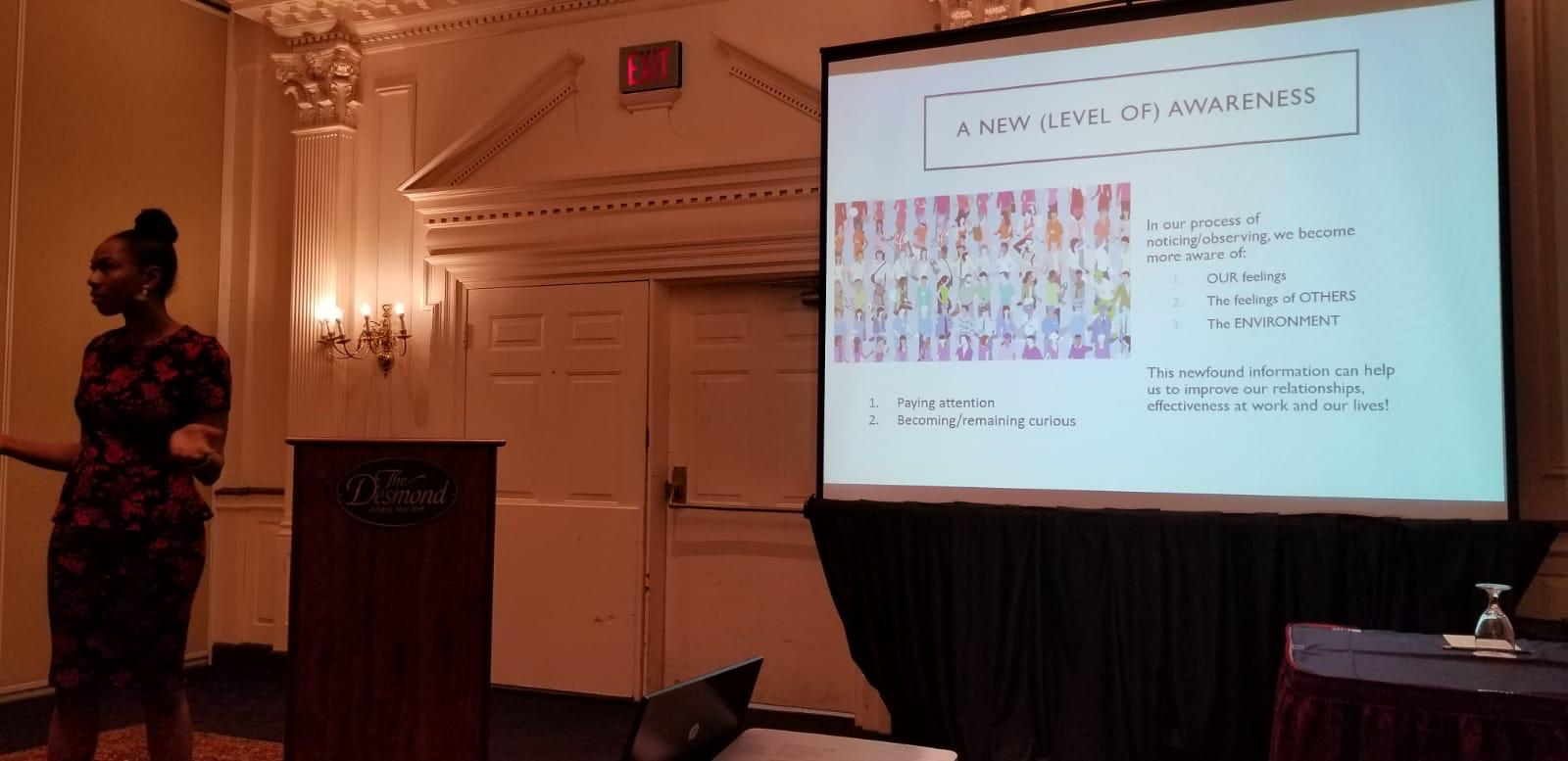 Damali Alexander Presenting at NYSABA 20