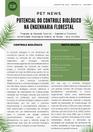 PET NEWS - Potencial do Controle Biológico na Engenharia Florestal