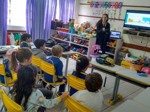 Contação de histórias Educação Infantil