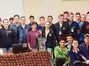 Apresentação dos cursos da Universidade Tecnológica Federal do Paraná ao CEDUP - Campo Erê, Santa Ca