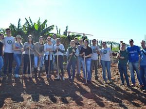 2º dia de atividades do projeto Escola Verde