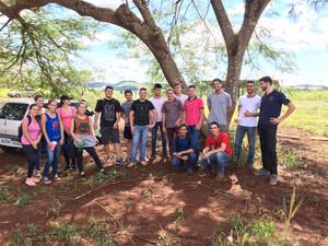 Recepção aos Calouros de Engenharia Florestal 2018