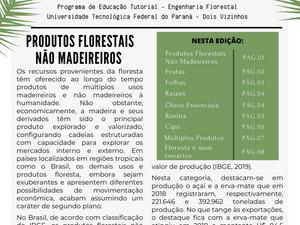 PET NEWS - Produtos Florestais Não Madeireiros
