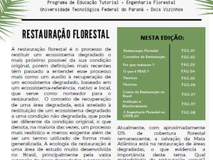 PET NEWS- Restauração Florestal
