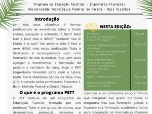 PET NEWS - O PET é o Programa de Educação Tutorial