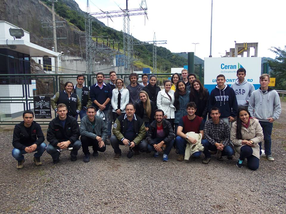 VIsita: Hidrelétrica Monte Claro- RS