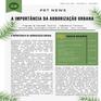 PET NEWS - A Importância da Arborização Urbana