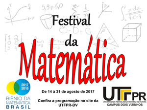 Festival da Matemática da UTFPR-DV