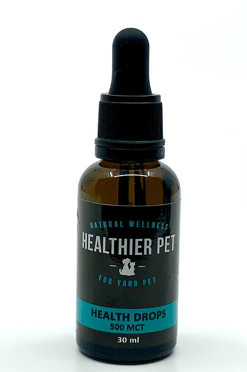 Health Drops Extra Strength 500 mg CBD in Coconut oil