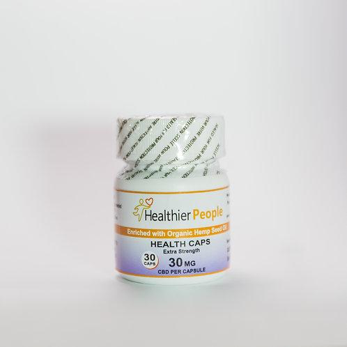 Health Caps Extra Strength 30 Mg