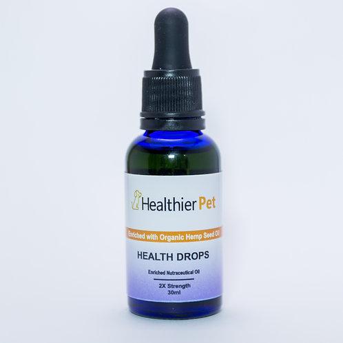 Health Drops 2x Strength 1000 Mg CBD in Fish Oil