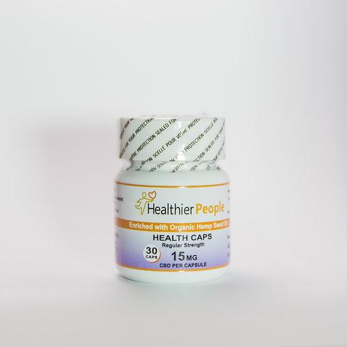 Health Caps Regular Strength 15 Mg
