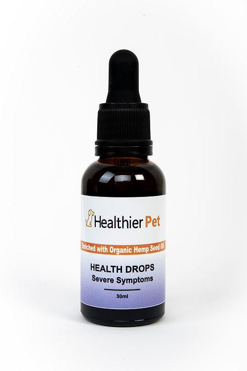 Health Drops Severe Symptoms 1500 mg CBD
