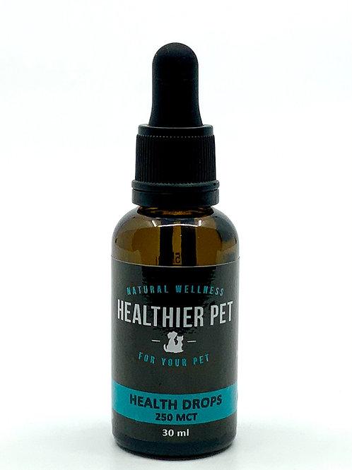 Health Drops Regular Strength 250 mg CBD in Coconut oil