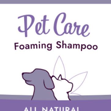 All Natural Foaming Shampoo