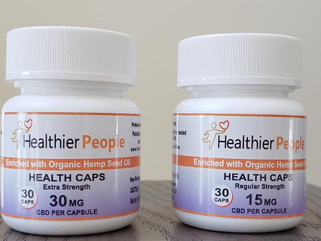 Introducing Canada's first thc free CBD gel caps