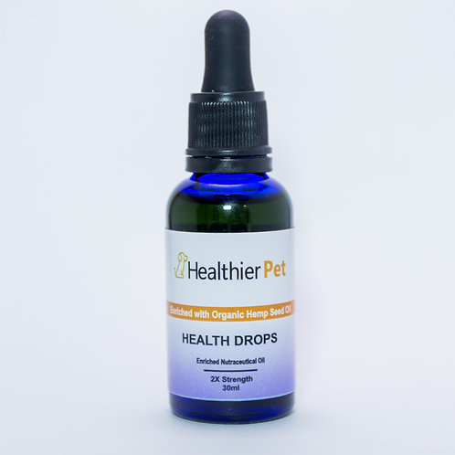 Health Drops 2x Strength 1000 Mg CBD in Fish Oil