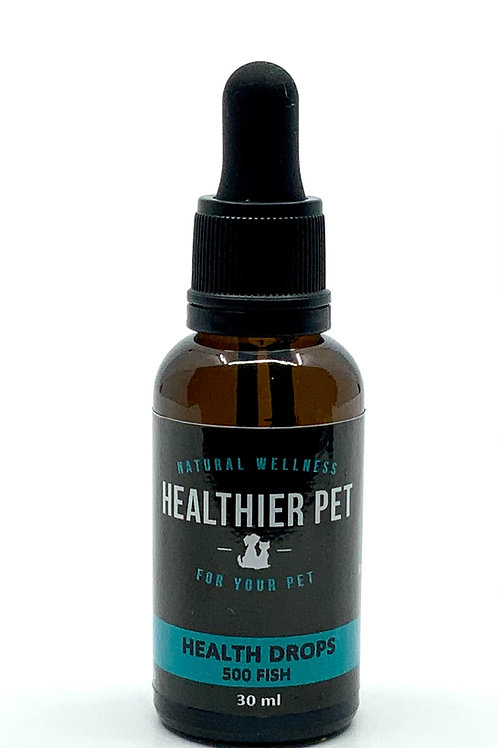 Health Drops Extra Strength 500 mg CBD in Fish Oil