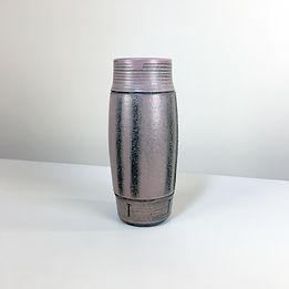 vase phorme ceramique rouleau vintage mid-century