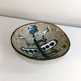 phorme jan nolf ceramique vintage amphora perignem vase mid-century