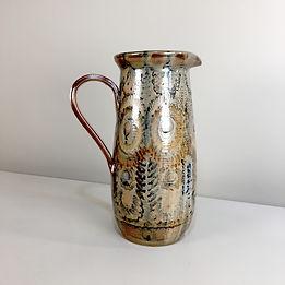 jean claude courjault phorme vase la cerisaie quimper vintage carafe mid-century