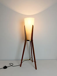 phorme lampe scandinave vintage tripode rocket