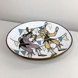 phorme yvette manoy ceramique namur dour belgique vintage chinels