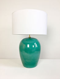 lampe ceramique vintage phorme