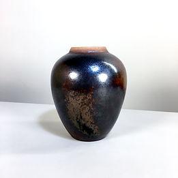 phorme gustave tiffoche vase ceramique vintage mid-century