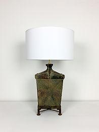 phorme lampe vintage ceramique mexique