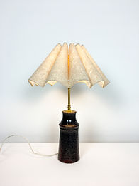 phorme lampe ceramique vintage