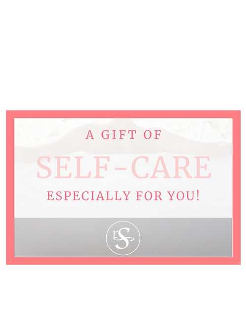 Self-Care Gift Certificate