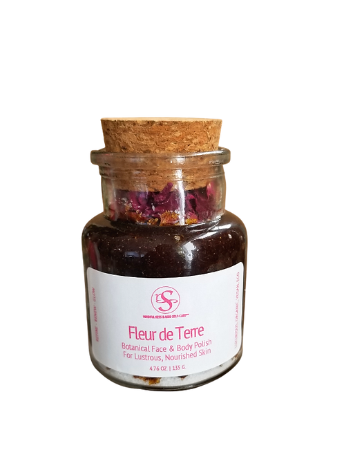 Fleur de Terre - Botanical Face & Body Polish