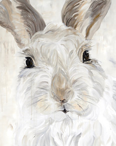 """""""Snow Bunny"""" - Garden Series"""