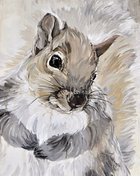 """George"" the Squirrel - Garden Series"