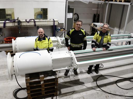 Vi har utvidet produksjonen i Follafoss...