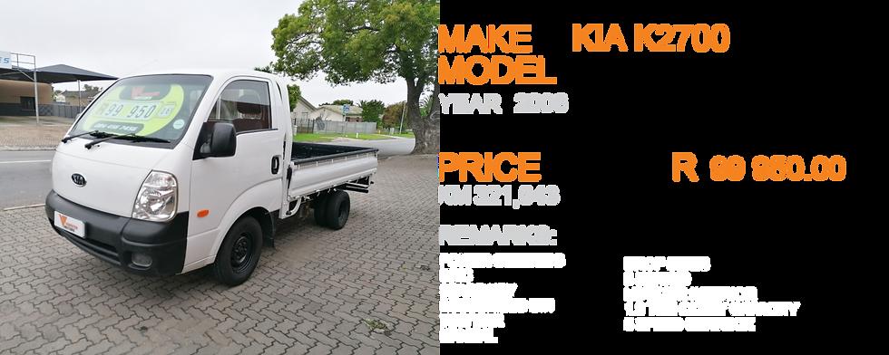 2006 KIA K2700 - KM 321,643