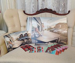 collection of printed photos