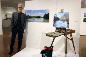 Fox River paintings exhibit opening June 6 at Ottawa's Jeremiah Joe Coffee