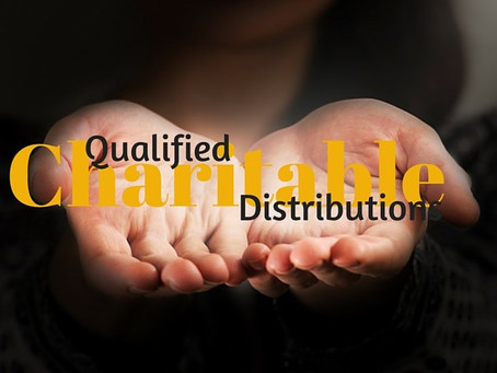 Consider a Qualified Charitable Distribution from an IRA