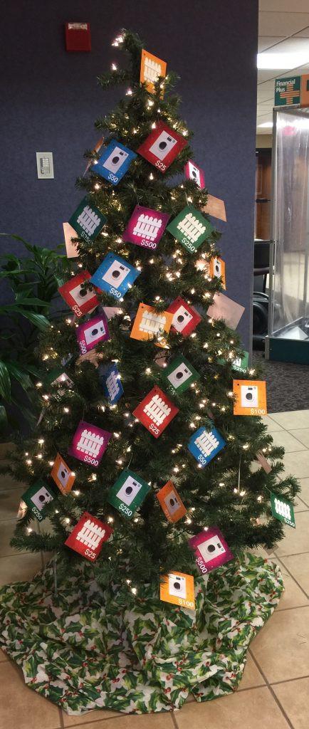 financial plus christmas tree